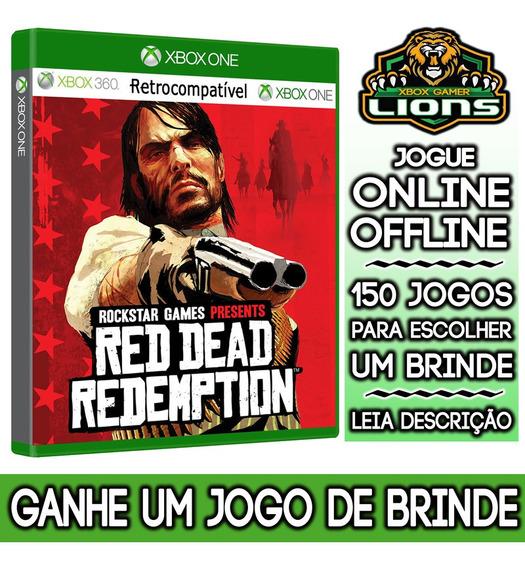 Red Dead Redemption 01 Xbox One + Brinde