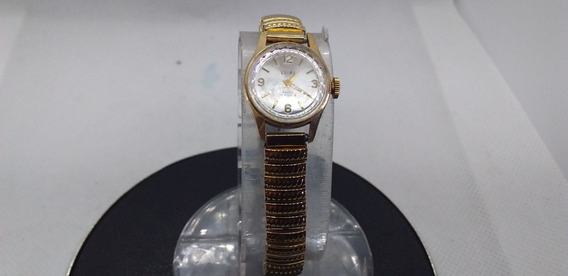Relógio De Pulso Feminino Velma Plâque De Ouro