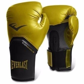 Guantes De Boxeo Pro Style Elite Everlast Negro Dorado 10 Oz