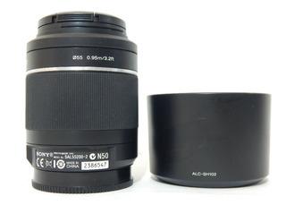 Lente Sony Dt 55-200 Mm F4-5.6 Sam Ii Sal 55200-2 Seminuevo