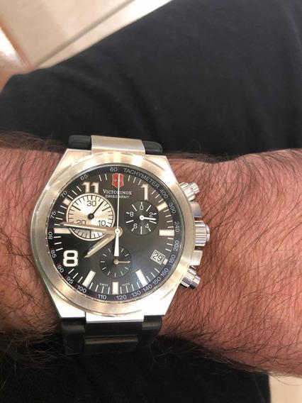 Relógio Victor Inox Impecável Cronografo