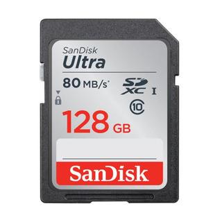 Cartão Memória Sd Sandisk 128gb Ultra 80mb/s Classe 10