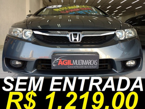 Honda Civic 1.8 Lxl Único Dono 2011 Cinza Aut