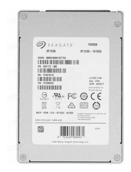 Hd Seagate Nytro Ssd 1.92tb Seagate 6gb/s Xf1230-1a1920