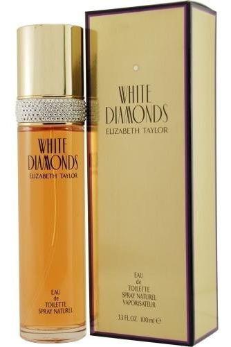 Imagen 1 de 1 de Elizabeth Taylor White Diamonds, 3.3 Onza Liquida