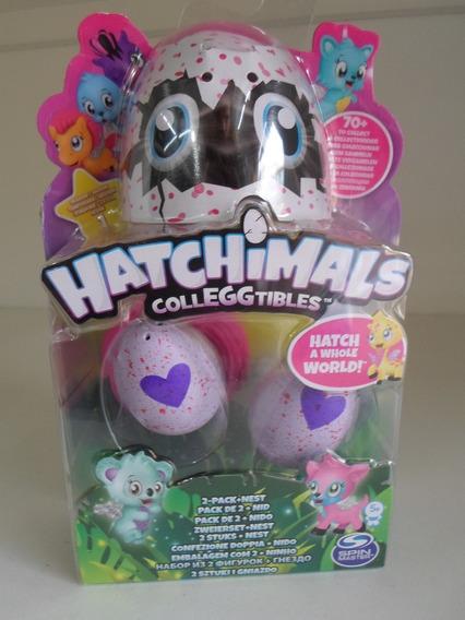 Hatchimals Blisters Com 2 Ovos + Ninho Coleggtible Original