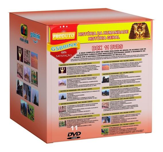 Dvds História Da Humanidade 11 Dvds Coleção Completa