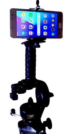 Pistol - Suporte Estabilizador Dslr Celular Led Handycam