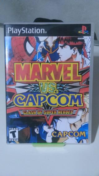 Jogo Marvel Vs Capcom ( Patch ) Ps1