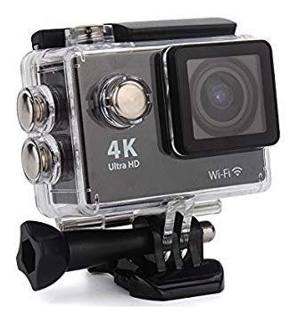 Filmadora Action Câmera 4k Wifi Wateerproof 30m Preto