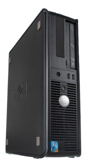 Cpu Pc Novo Dell Optiplex Intel Pentium 2gb Hd 320gb Dvd-rw