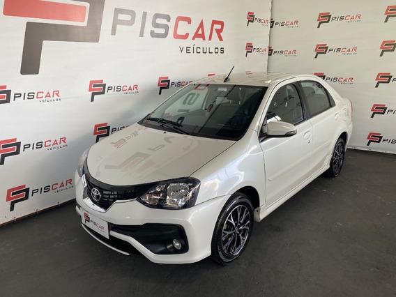 Etios 1.5 Platinum Sedan Aut 2019 Único Dono, Revisado !!!