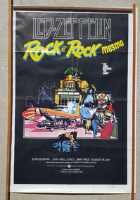 Cartaz Original Filme The Song Remains The Same Led Zeppelin