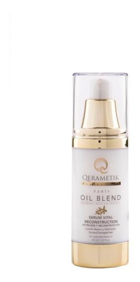 Serum Capilar Tratamiento Nutrición Cabello Oil Blend 40 Ml