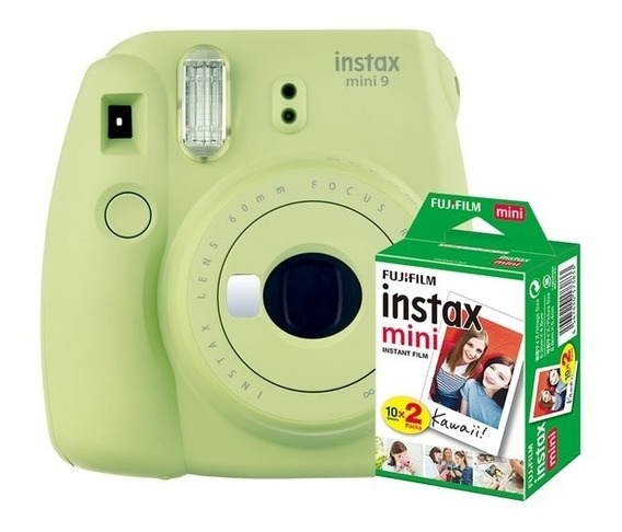 Câmera Fuji Instax Mini 9 Instantânea Polaroid + 10foto + Nf