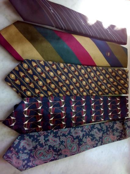 Corbatas Lote De 5