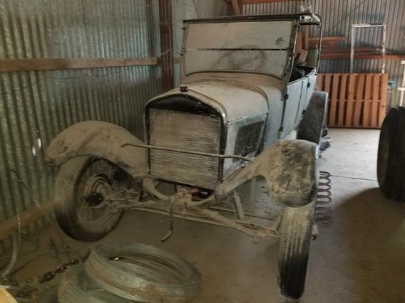 Ford 1927 Doble Phaeton