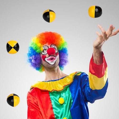Juego De 3 Bolas De Malabares Con Diseño De Payaso Color A Mercado Libre