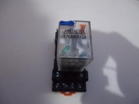 Relé Metaltex Tna4rc3 / 24vcc / 14 Pinos - 5a Com Base