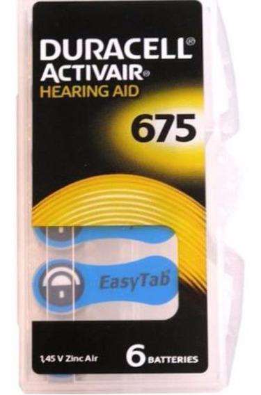 Bateria Auditiva Duracell - Activair 675