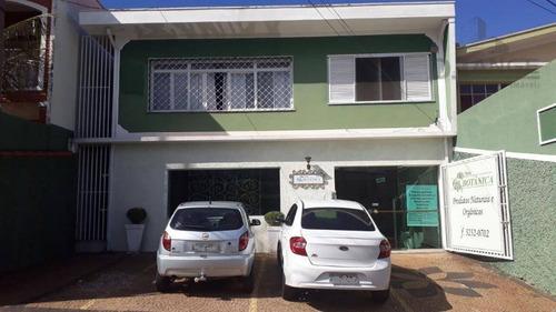 Casa À Venda, 204 M² Por R$ 890.000,00 - Ponte Preta - Campinas/sp - Ca11806