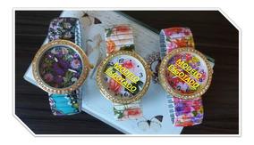 Relógio Feminino Bracelete - Floral