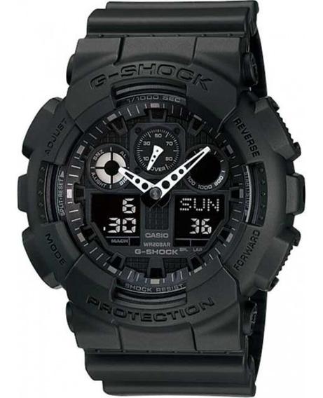 Relógio Masculino Casio G-shock Ga-100-1a1dr Nota Fiscal