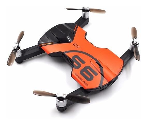 Drone Wingsland S6 Pocket - Câm. 4k Gps Wifi - Bateria Extra