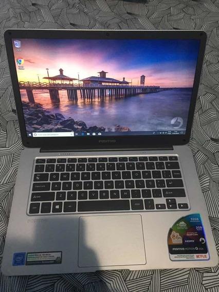 Notebook Motion Q232a Quad Core Windows 10 Home 14