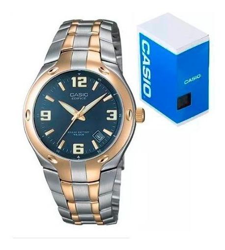 Reloj Casio Edifice Ef106 Sg-2a Dorado Plata Envio Gratis