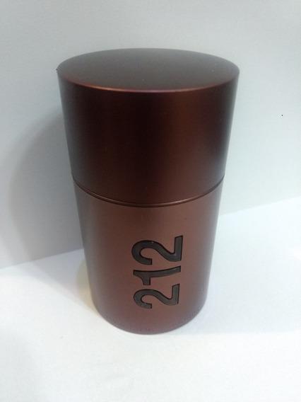 Frasco Vazio Do Perfume 212 Men 50 Ml ( Leia Descrição )