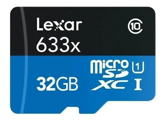 Cartão Lexar 633x Micro Sdhc Uhs-l