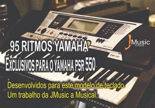 Disquete Com 95 Ritmos Para Teclados Yamaha Psr 550