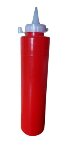 Salsero Dispensador De Salsas, Oprimible 500ml De 27 X 6 Cms