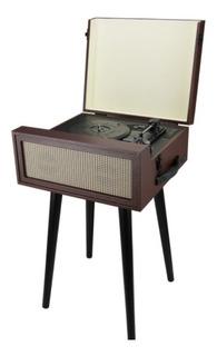 Tocadiscos Winco W409 Bluetooth Con Patas Vintage Vinilo Usb