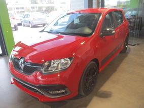 Renault Sandero Rs, Std, A/c, 4 Cil ,color Rojo, Modelo 2017