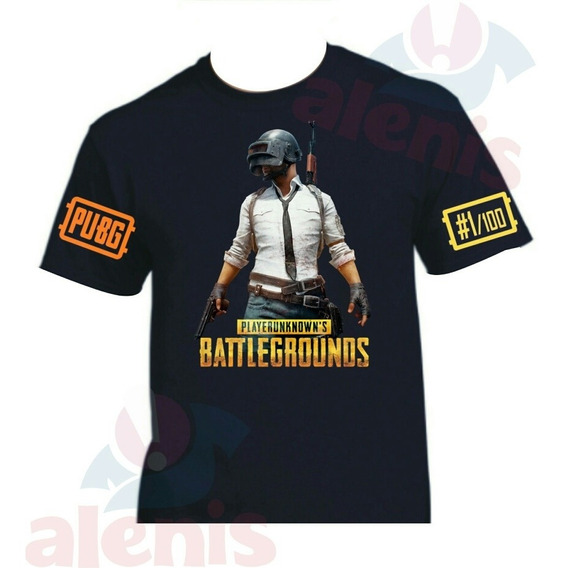 Playera Pubg Personalizada