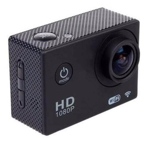 Sportscam Câmera Filmadora Hd Prova Dágua Wifi Esporte