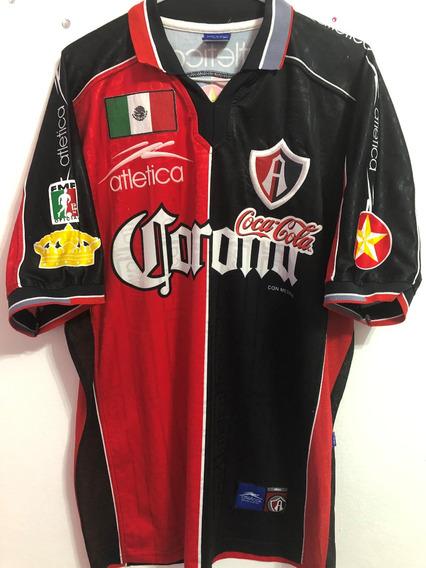 Camisa Atlas Usada Libertadores 2000 Contra Palmeiras
