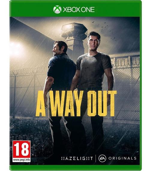Jogo A Way Out Xbox One Disco Físico Novo Português Barato
