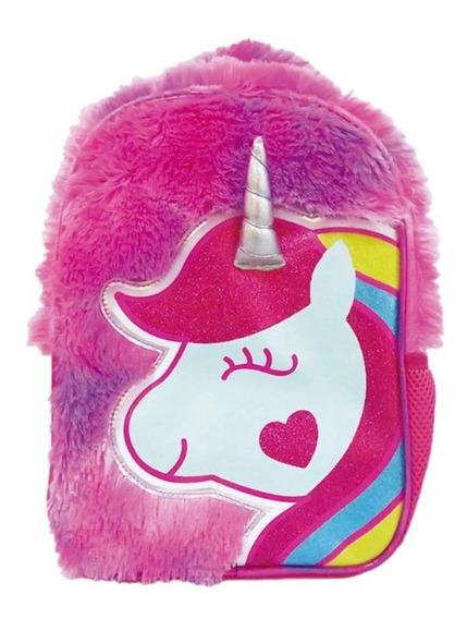 Mochila De Espalda Unicornio Plush Ck021 De 12