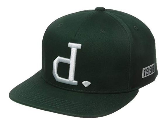 Gorra Snapback Diamond Supply - Unpolo - Verde