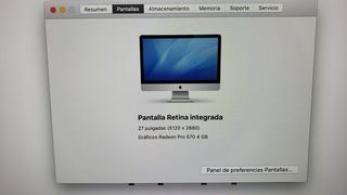 iMac 27 5k 2017 - Igual A Nueva Con Caja + Teclado