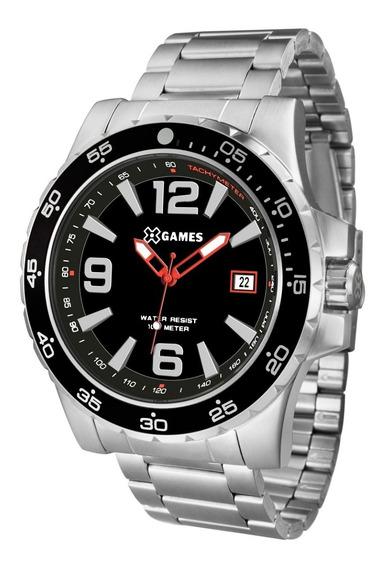 Relógio X-games Masculino Xmss1043 P2sx Aço Analogico Oferta