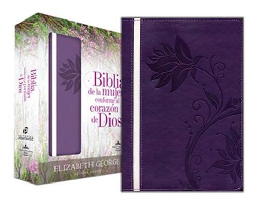 Imagen 1 de 7 de Biblia De Estudio De La Mujer Conforme Al Corazon De Dios