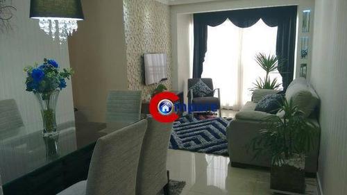 Imagem 1 de 9 de Apartamento Com 3 Dormitórios À Venda, 63 M² Por R$ 413.400,00 - Ponte Grande - Guarulhos/sp - Ap5776