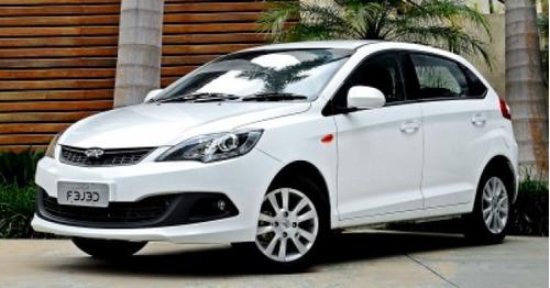 Auto Chery Fulwin 2015 1.5 Full Blanco Único Dueño Barato