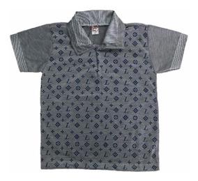 10 Camisa Camiseta Polo Infantil Masculina Menino Atacado