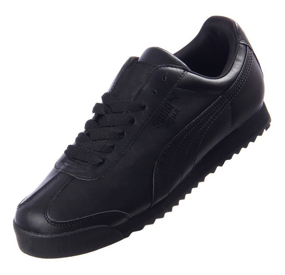Tenis Puma Roma Basic 100% Originales Color Negro