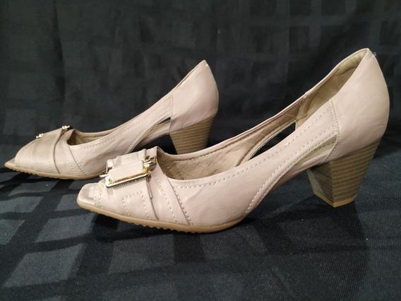 Zapatos Sin Puntera Color Nude Piccadilly. Num 40. Nuevos!
